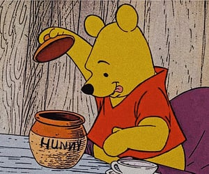 honey and winnie the pooh image