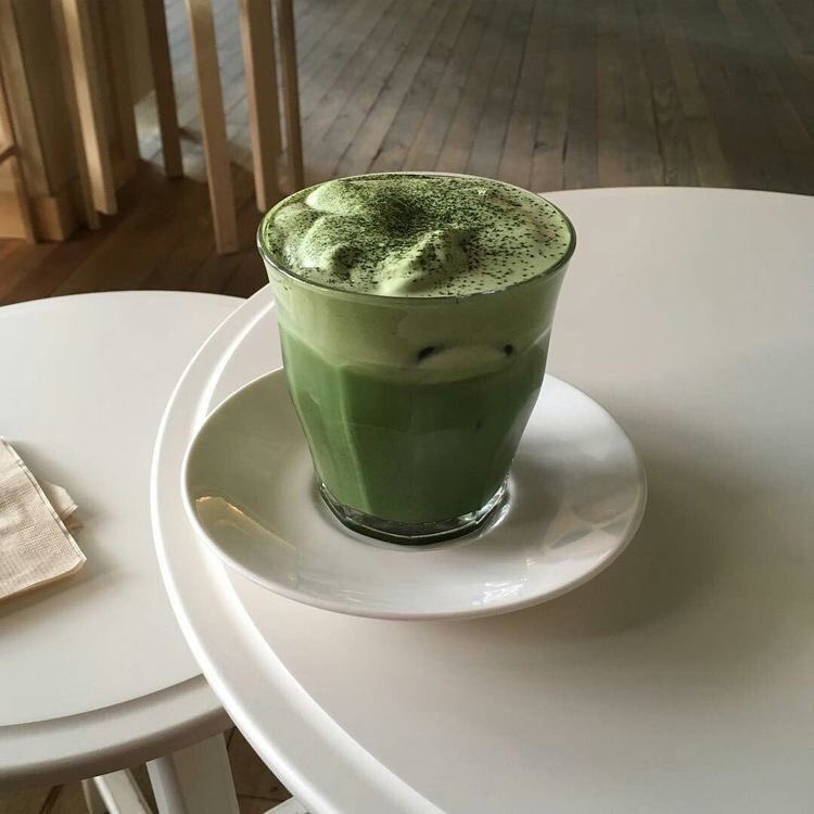 86 Images About Green Matcha On We Heart It See More About Green Aesthetic And Food