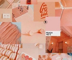 wallpaper, aesthetic, and orange image