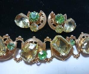 etsy, designer jewelry, and rhinestone earrings image