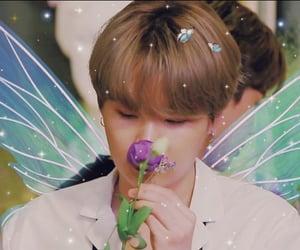 bts, flowers, and yoongi image