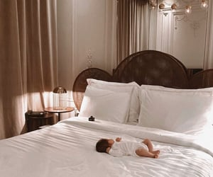 adorable, bed, and elegance image