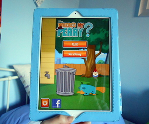 app, phineas and ferb, and perry image