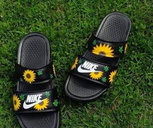 need, nike, and sunflowers image
