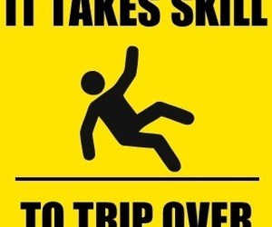 skills, funny, and trip image