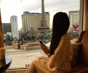 casino, eiffel tower, and hair image