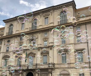 bubbles, travel, and aesthetic image