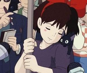 anime, kiki's delivery service, and studio ghibli image