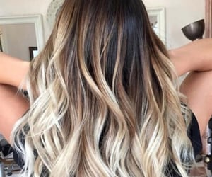 hair goals and ombre image