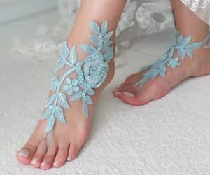 etsy, lace shoes, and garden wedding image