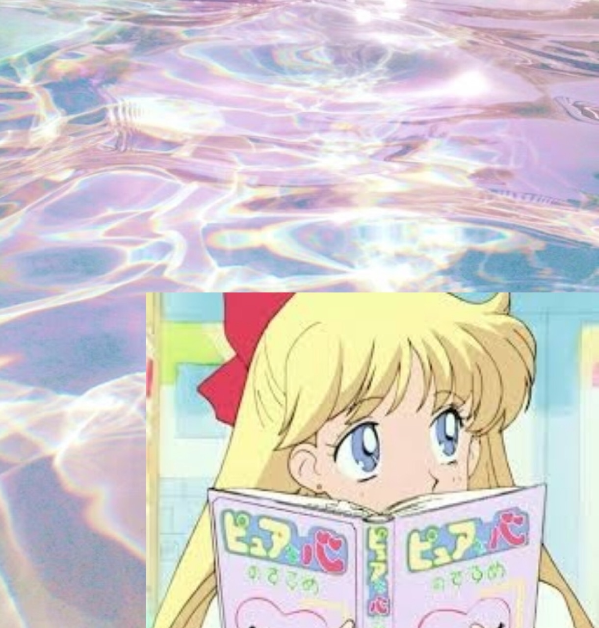 90s, cute, and anime image