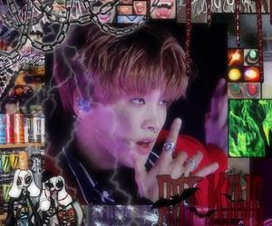 kpop edit, goth edit, and cyber edit image