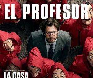netflix, el profesor, and la casa de papel image