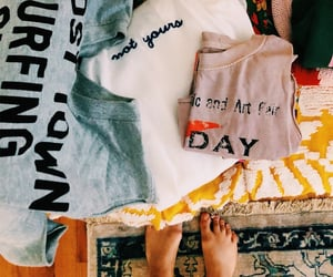 fashion, tee, and stay home image