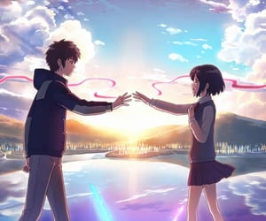 anime and your name image