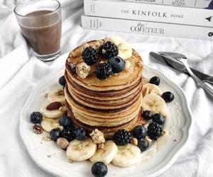 books, breakfast, and chocolate image