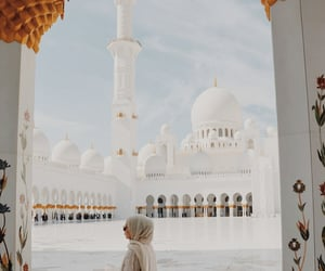 aesthetic, architecture, and hijab image