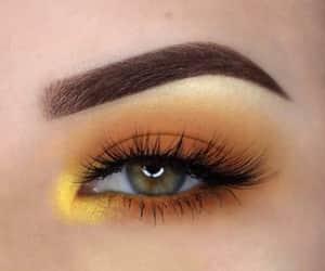 belleza, eyeshadow, and make up image