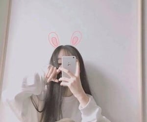 girl, ulzzang, and selfie image