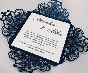 azul, invitations, and matrimonio image