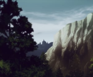 aesthetic, anime, and landscape image