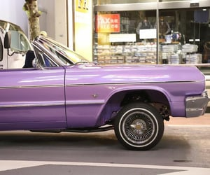 car, automobile, and lavender image