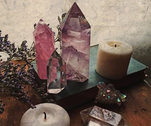 crystal, witch, and stone image