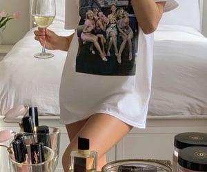 wine, aesthetic, and girl image