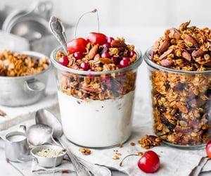 dessert, granola, and dessert food image