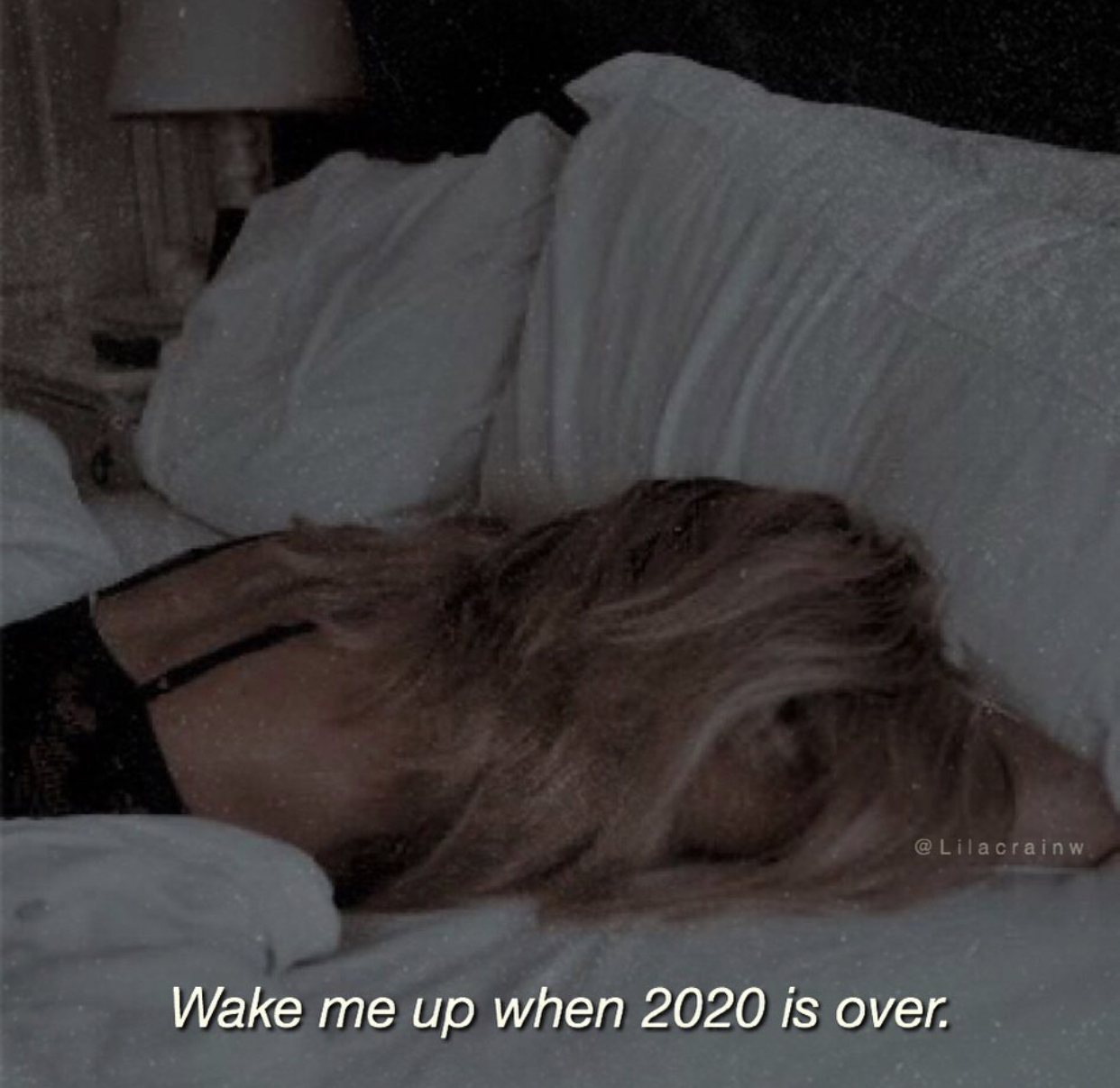 2020, bed, and bored image