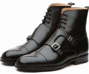 boots, brogues, and leather boots image