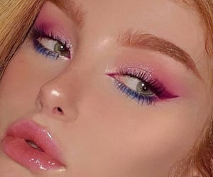 aesthetic, beauty, and lashes image