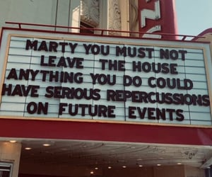Back to the Future, cinema, and marty image