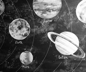 planet, space, and aesthetic image