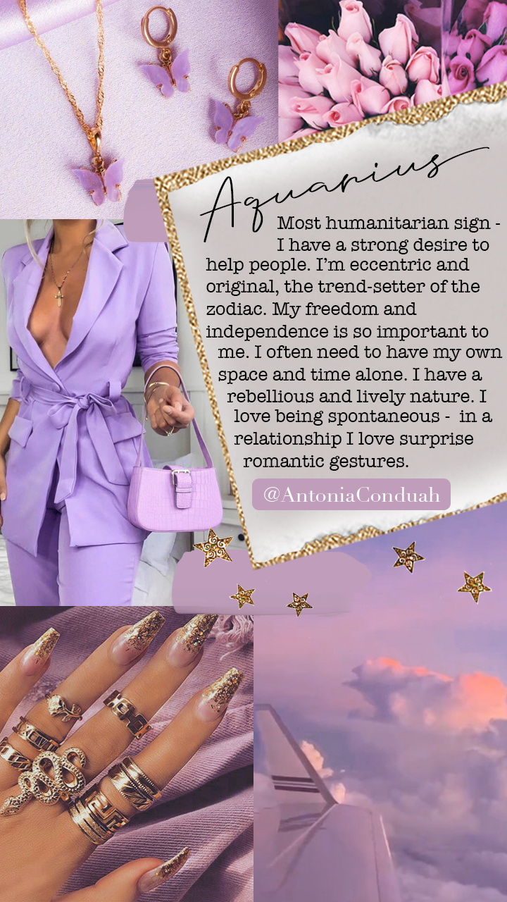 aesthetic, aquarius, and astrology image