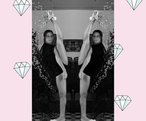 bale, ballet, and diamond image