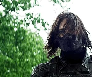 bucky, winter soldier, and james barnes image