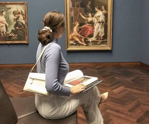 art, fashion, and painting image