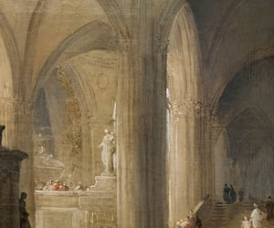 18th century, abbey, and art image