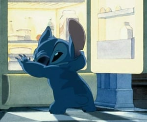stitch, disney, and food image