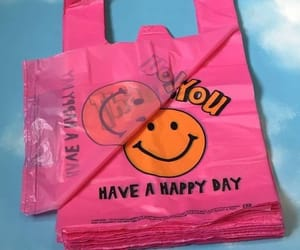 happy, pink, and vintage image