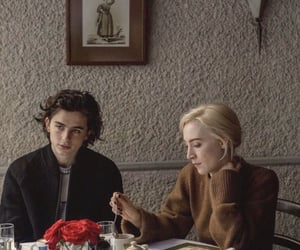 timothee chalamet and Saoirse Ronan image