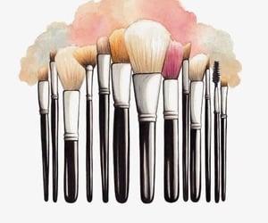 background, beauty, and Brushes image