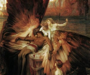 angel, art, and icarus image