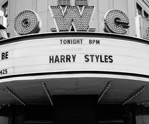 black and white, Harry Styles, and celebrities image