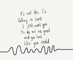 arctic monkeys, Lyrics, and am image