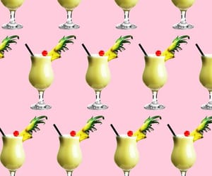 Cocktails, delicious, and pattern image