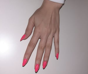 girl things, manicure, and nails image
