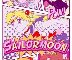 90s, anime, and fanart image