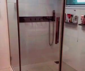 bathroom, black, and box image